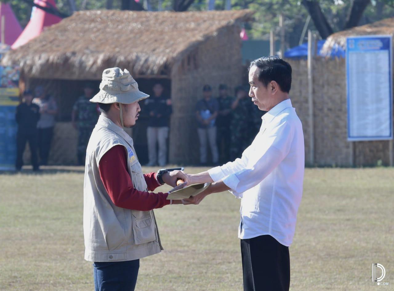 Presiden Serahkan Rp264 Miliar Untuk Perbaikan 5293 Rumah Korban Gempa Lombok Joko Widodo Bantuan Istimewa Detakpos