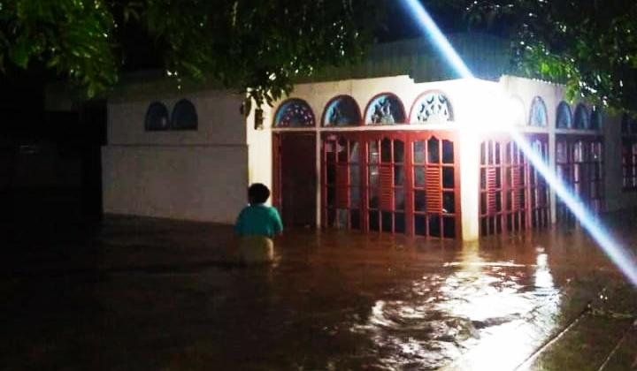 Salah satu rumah terendam banjir/ist