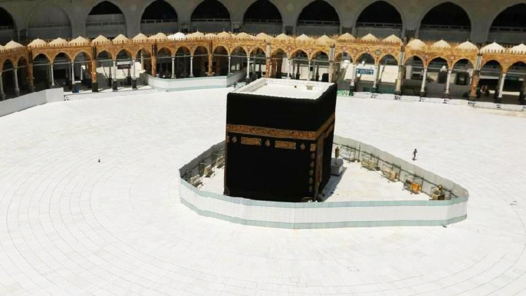 Masjidil Haram saat dibersihkan: foto dok.NU Online/ist