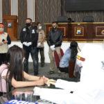 Gubernur beri arahan mereka yang terjaring di Mapolresta Surabaya,/ist