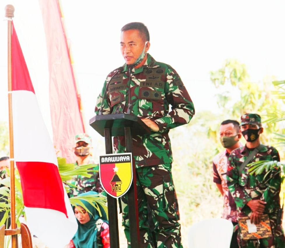 Kolonel Inf M. Dariyanto saat menyampaikan pengarahan/ist
