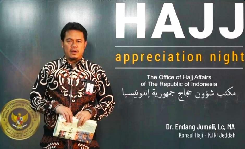 Konsul KJRI Jeddah Endang Jumali/dok humas Kemenag
